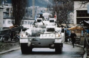 The Cheshire's in Bosnia